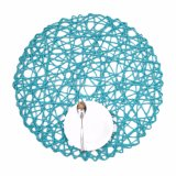 Bunte natürliche materielle Zeichenkette Placemat für Haus u. Dekorationen