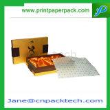 Вина подарка бумаги с покрытием OEM коробка твердого упаковывая