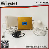 アンテナが付いているデュアルバンド900/2100MHz 3G 4Gの移動式シグナルの中継器
