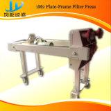 Máquina pequena da imprensa de filtro do uso do laboratório para o produto químico, alimento, uso farmacêutico, de pedra da indústria