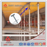 足場アクセサリ調節可能な鋼鉄継ぎ目が無いUのヘッドねじ/基礎ジャック/ガードの波カッコフレーム
