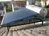 Chaufferette d'eau chaude solaire d'acier inoxydable