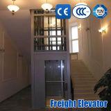 elevador casero al aire libre de interior del pasajero de la elevación del sitio de la máquina de Roomless de la máquina 320-1600kg