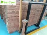 フロアーリングデザインのための皇族の木製の穀物の赤い大理石のタイル