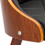 호두에 의하여 겉을 꾸미는 Bentwood 가짜 가죽 식사 의자 (W16905-2)