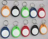 Controllo di accesso di stampa 3.56MHz di Customed RFID Keytag (SDF4C)