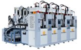 Vertikale doppelte alleinige Einspritzung-formenmaschine der Farben-Tr/TPR/PVC