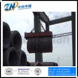 Magnete di sollevamento della gru per la bobina della vergella che alza con polo magnetico speciale MW19-30072L/1