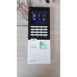 メモリ・カード多彩なスクリーンの指紋の時間および出席(FFI)