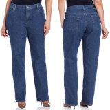 Pantalons sexy de jeans de mode de dames de jeans en gros de tailles importantes