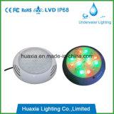 luz montada superficial de la lámpara LED de la piscina de 18watt LED