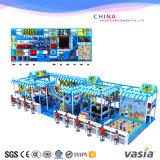 De nieuwe Apparatuur van de Speelplaats van de Kinderen van het Ontwerp Binnen met Zachte Ballvs1-160223-153A-33