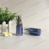 15mlサファイアの化粧品の包装のためのアクリルの空気のないローションのびん(PPC-AAB-029)