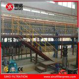 Filtre-presse hydraulique automatique industriel de membrane