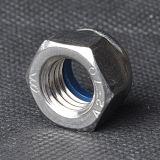 Controdado di nylon DIN985 (CZ439) di rivestimento normale