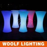 党イベントのRbgカラー可変性LEDプラスチック照明表のためのデザイン