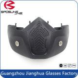 De zwarte Volledige Beschermende brillen van de Veiligheid van de Fiets van het Vuil van de Motorfiets van het Masker van het Gezicht Volwassen off-Road