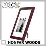 Klassischer Brown-hölzerner Abbildung-Foto-Rahmen für Hauptdekoration