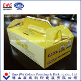 A caixa de bolo de dobramento feita sob encomenda do papel de impressão dos produtos de China que empacota, endurece os melhores produtos da caixa de papel, caixa de papel do presente