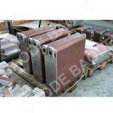 Échangeur de chaleur brasé résistant à la corrosion de plaque pour le refroidissement à l'huile marin de moteur diesel