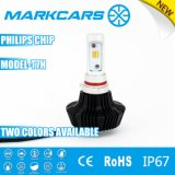 Markcars Two Colors LED Auto Lamp avec Philips Chip