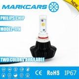 Philips 칩을%s 가진 Markcars 2 색깔 LED 자동 램프