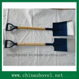 Лопаткоулавливатель лопата лопаткоулавливателя ручки инструмента деревянная с пластичным сжатием