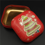 Square Cookies Tin Box para comida / Chocolate / Doces / Toy (S001-V10)