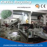 Estágio tecido PP elevado do dobro do saco da eficiência que recicl o granulador