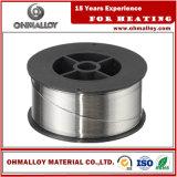 De stabiele Draad Ohmalloy109 Nicr80/20 van het Weerstandsvermogen Ni80chrome20 voor het Verwarmen Element