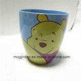 خزف طبل نوع فنجان أداة مائدة [تا كب] [وينّي] أف رسم متحرّك طباعة فنجان