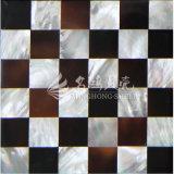 Белые раковина Mop губы и плитка мозаики раковины 15*15 пер