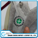Tessuto del Nonwoven del poliestere pieghettato materiale verde dell'elemento filtrante di Airlaid della tintura