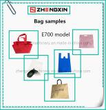 Bolsas não tecidas de pé que fazem a máquina fixar o preço (ZXL-E700)