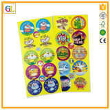 Kundenspezifisches farbenreiches Firmenzeichen-Aufkleber-Drucken