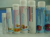 Câmara de ar laminada para o dentífrico