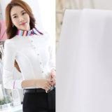 Telas tecidas do Poplin de Tc65/35 45s*45s 133*72 camisa branca