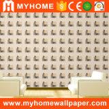 1.06m het Koreaanse Waterdichte Behang van pvc van de Stijl Moderne 3D voor Bouwmateriaal