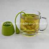 Горячий продавая новый чай Infuser силикона нержавеющей стали потека типа
