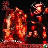 Indicatore luminoso di natale a pile del collegare di rame LED del LED 3V/4.5V/6V 3AA