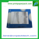 Коробки косметической коробки дух коробки упаковывая с PVC Windows
