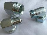 DIN 견과를 가진 24 정도 팔꿈치 유압 접합기 도금 아연