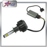 우수한 Quallity H7 H11 9005 차 기관자전차 최고 밝은 LED 헤드라이트 전구를 위한 9006의 LED 헤드라이트