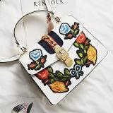 Мешок плеча нового способа цветка вышивки сумки повелительниц конструкции ультрамодный для женщины Sy8140