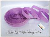 Cinghia viola della tessitura del poliestere