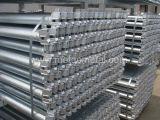 Sistema d'acciaio galvanizzato dell'armatura di Ringlock, impalcatura di Ringlock