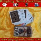 Карточка печатание покера конкурентоспособной цены изготовленный на заказ играя