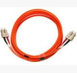 FC к шнурам заплаты симплексного волокна FC мультимодному 50/125 оптически