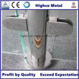 Collier en verre en acier inoxydable pour barrière de balustrade