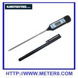 HT-9264 que cozinha o termômetro digital impermeável com ponta de prova inoxidável longa